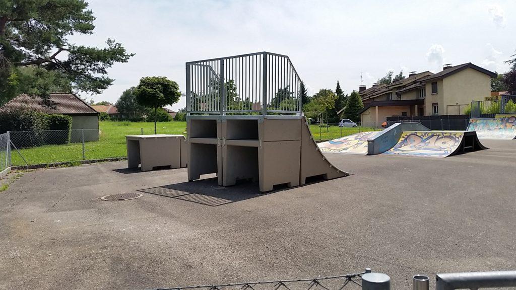 Skatepark à Pregny-Chambésy