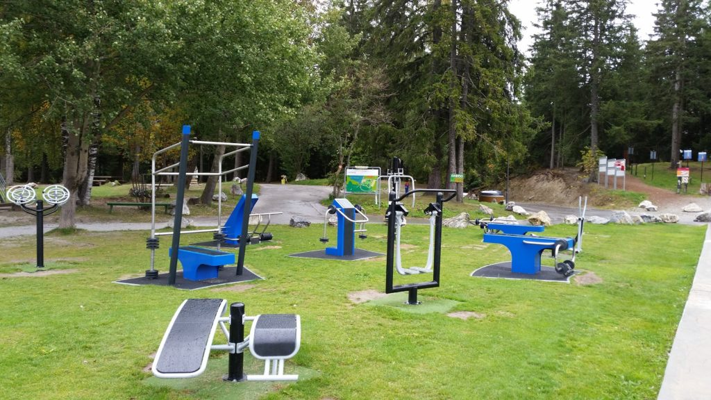Fitness à Crans-Montana (Moubra)
