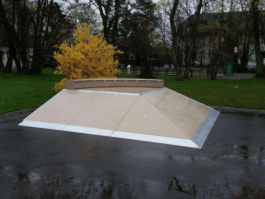 Skatepark à Ecublens