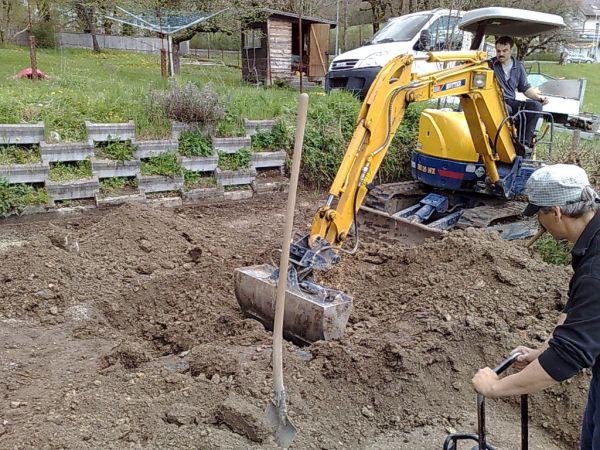 Traçage des fouilles