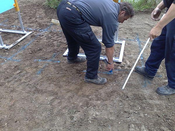 Creuse des fouilles