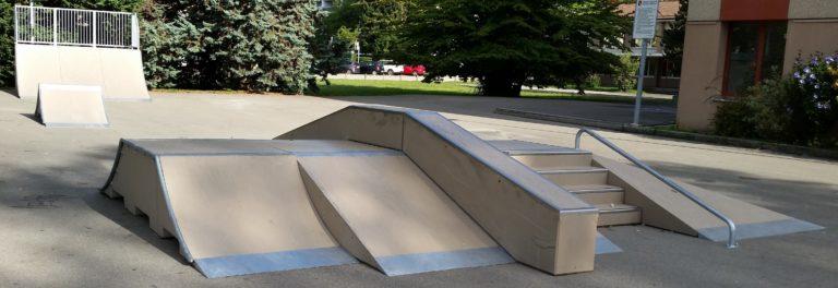 aménager un skatepark avec des modules en béton préfabriqué