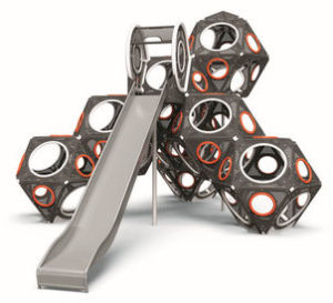 PlayCubes, jeu géométrique avec toboggan
