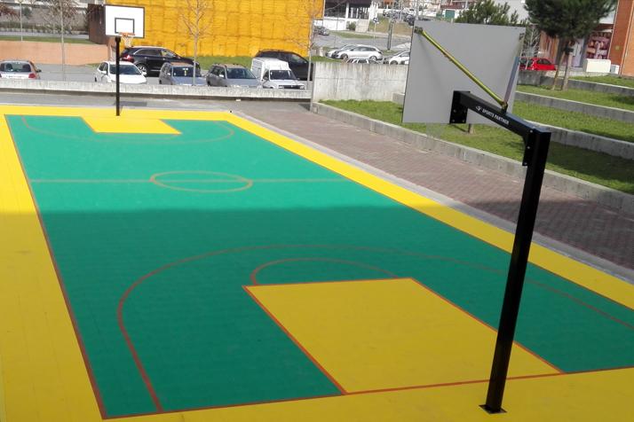Terrain de basket ClickFloors