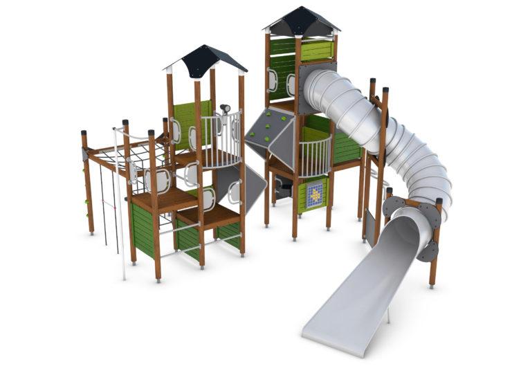 Structures de jeux modulables