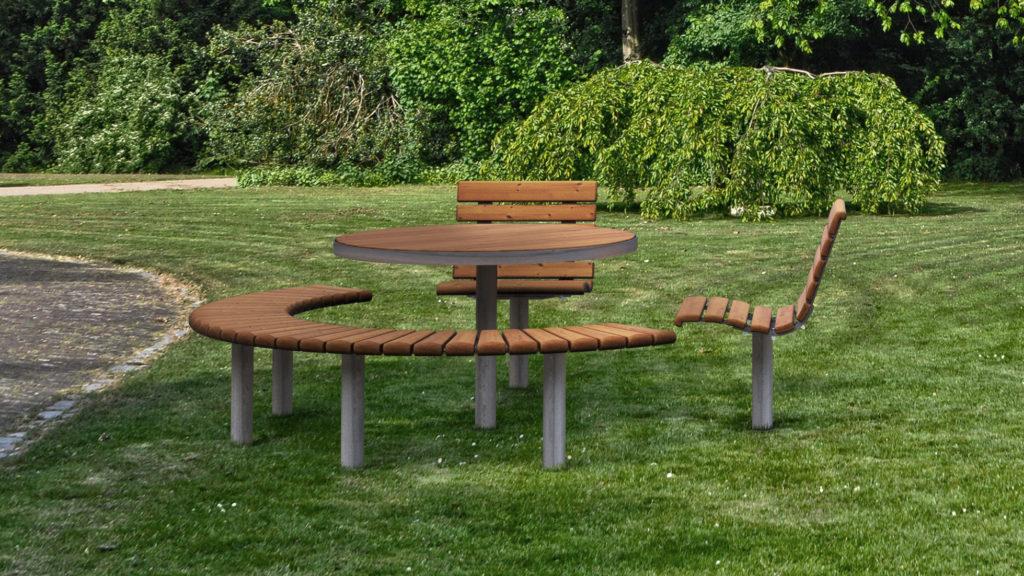 Mobilier urbain - table