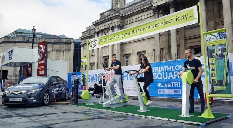 Faire du sport pour générer de l'électricité