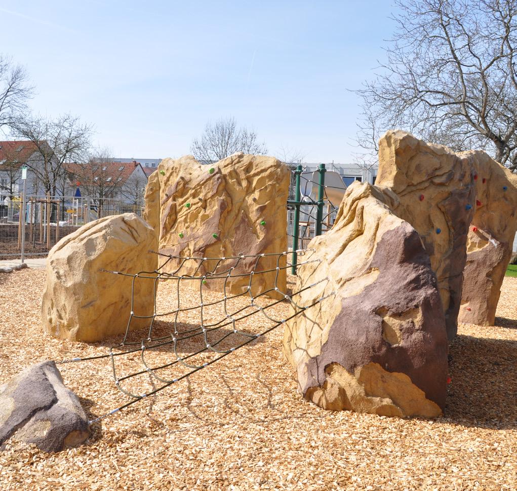 Structures rocheuses réalistes pour l'escalade
