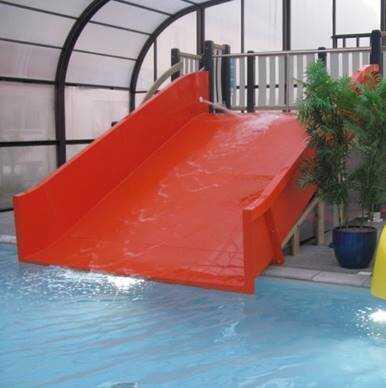 toboggan aquatique large droit